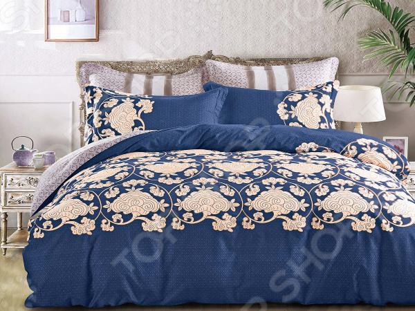 Комплект постельного белья Cleo 403-SK комплекты постельного белья cleo постельное белье hunter 2 спал