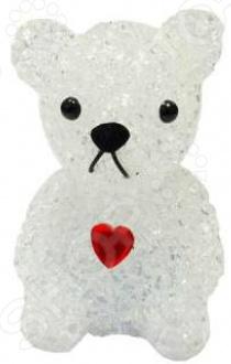 Фигура светящаяся Irit «Мишка с красным сердцем»