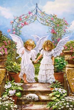 Пазл 1000 элементов Castorland «Друзья - Ангелы»