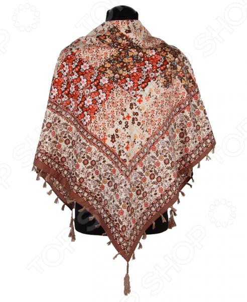 Платок Bona Ventura PL.XL-H.Pr.25 недорогой платок на шею для женщин