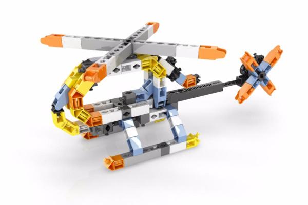 Конструктор игровой Engino STEM HEROES «Авиация. Сверхзвуковой самолет»