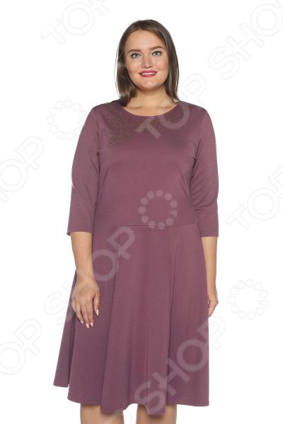Платье Blagof «Сияние сердца». Цвет: сливовый