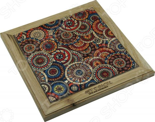 Подставка под горячее Gift'n'home «Испанская мозаика. Круги»