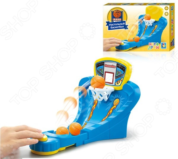 Баскетбол настольный 1 Toy Т10823