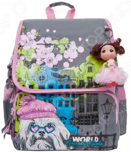Рюкзак школьный Grizzly RA-877-1 рюкзак школьный grizzly ra 672 2