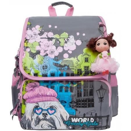 Купить Рюкзак школьный Grizzly RA-877-1