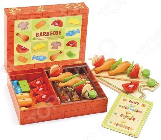 Игровой набор для девочки Djeco «Барбекю». В ассортименте