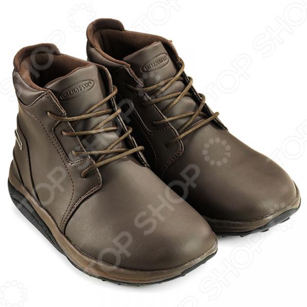 Ботинки демисезонные Walkmaxx Ankle boots. Цвет: коричневый