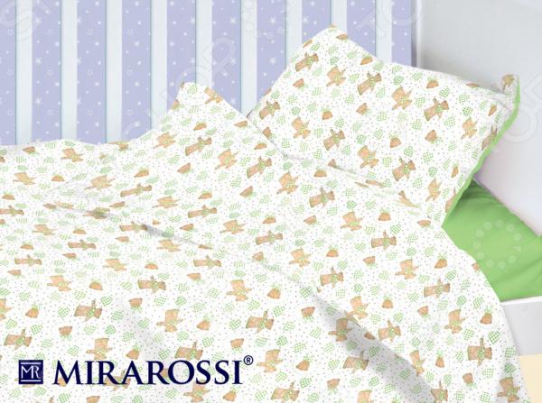Детский комплект постельного белья MIRAROSSI Orsetto