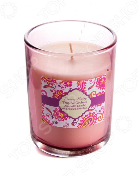 Свеча ароматическая «Тропическая орхидея» 94108