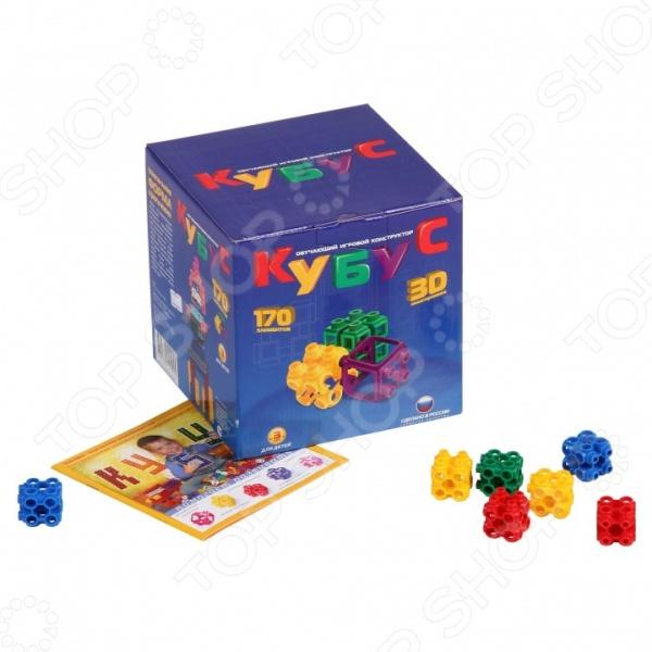 Конструктор игровой Биплант «Кубус большой»