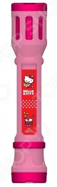 Фонарик-проектор Tech 4 Kids Hello Kitty предназначен для таких маленьких, но уже таких любознательных малышей. Как и любым другим фонарем, им можно освещать себе дорогу в темное время суток или искать игрушки под диваном. Также представленная модель оснащена сменными насадками, которые позволяют проецировать изображения героев и аксессуаров любимого мультсериала на любую поверхность. Для того, чтобы ни одна насадка не потерялась, в нижней части изделия имеется специальный накопитель. Если же установить фонарь вертикально, то его можно использовать в качестве настольной лампы. В качестве источников света выступают мощные светодиоды. Не упустите шанс порадовать ребенка замечательным подарком!