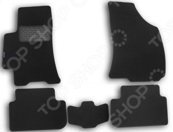 Комплект ковриков в салон автомобиля Novline-Autofamily Chery Tiggo 2006 коврик в багажник novline chery tiggo кроссовер 2014 полиуретан 1 шт carche10002