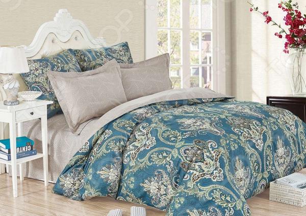 Комплект постельного белья Cleo 455-SK комплект постельного белья двуспальный cleo sk 2 441