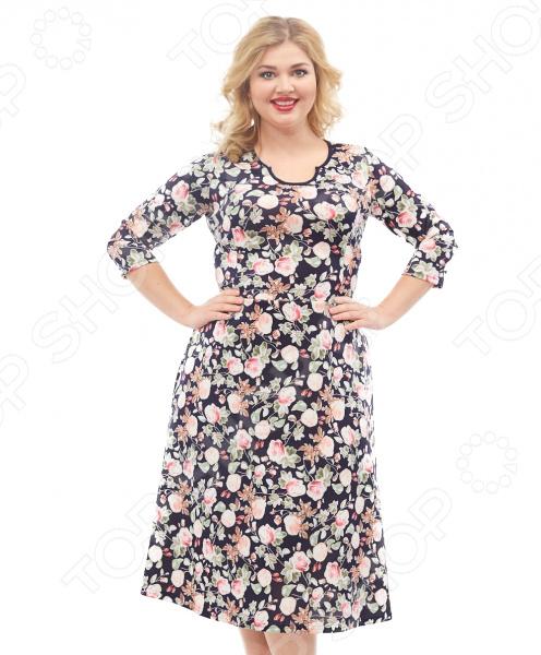 Платье Лауме-стиль «Эсми». Цвет: розовый