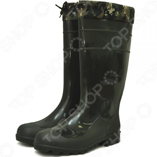 Сапоги резиновые Nordman высокие с манжетами ПС 9-1 М резиновые сапоги женские nordman цвет черный пс 28 мл размер 40
