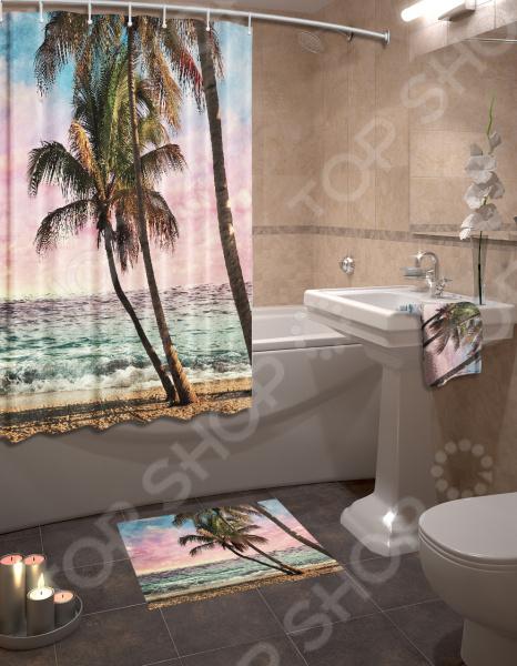Набор для ванной «Пальмы»
