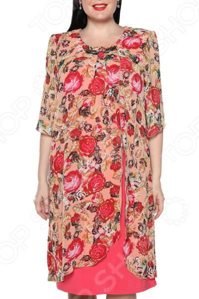 Платье Pretty Woman «Романтика». Цвет: розовый