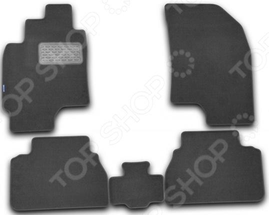 Комплект ковриков в салон автомобиля Novline-Autofamily Chevrolet Epica 2006. Цвет: черный накладка на задний бампер chevrolet epica 2006