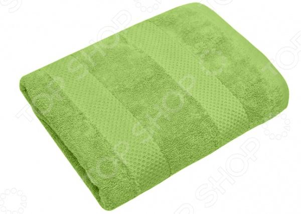 Полотенце махровое Василиса «Конфетти». Цвет: зеленый