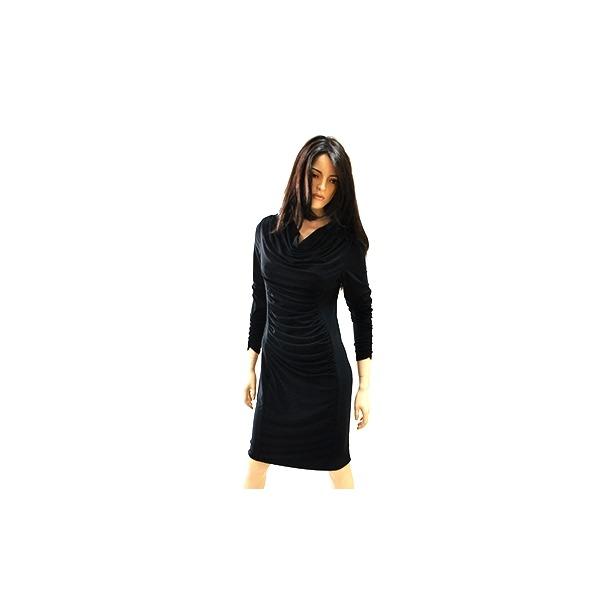 фото Платье Климини Синди. Цвет: черный. Размер одежды: 56