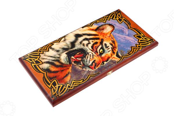 Нарды «Тигр» 28-262 нарды хохлома