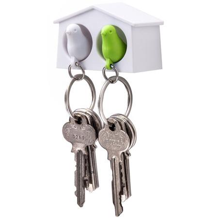 Купить Держатель и брелок для ключей Qualy Mini Sparrow