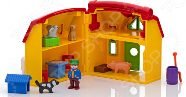 Конструктор для малыша Playmobil «Ферма»