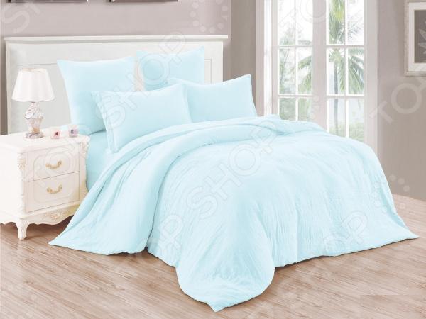 Комплект постельного белья Cleo Pastel Symphony 016-PT. 2-спальный