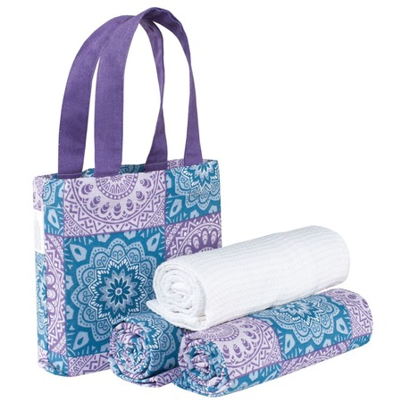 Купить Набор полотенец «Лазурит» в сумке. Количество предметов: 3