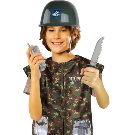 Купить Ролевой костюм для мальчика Город игр с аксессуарами «Военный»