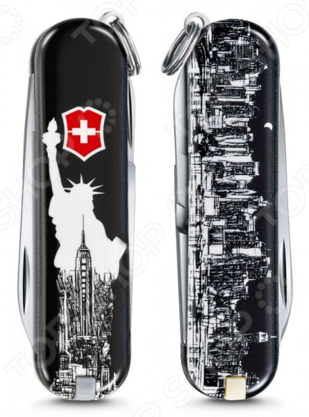 Нож перочинный Victorinox Classic LE 2018 0.6223.L1803 New York