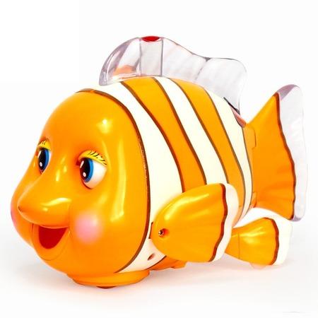 Купить Игрушка музыкальная Huile Toys «Рыбка»