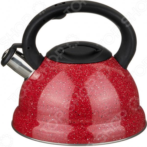 Чайник со свистком Agness 937-605 чайник со свистком laracook polish