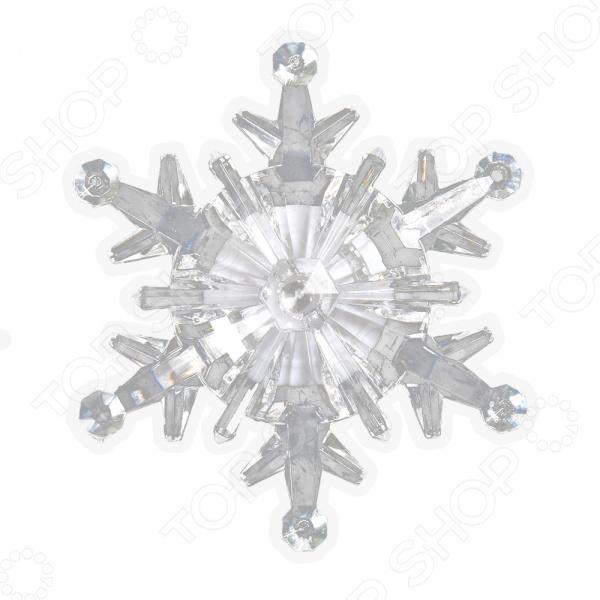 Фигурка светодиодная на присоске VEGAS «Снежинка» 55055