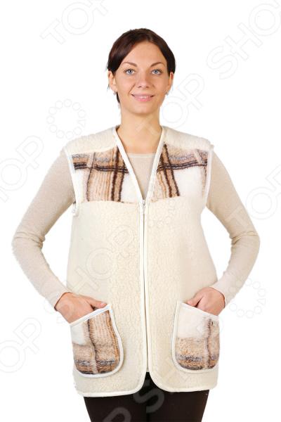 Жилет утепленный WoolHouse «Клетка» жилет утепленный мужской woolhouse матео