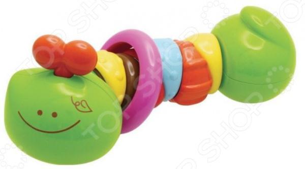 Игрушка-прорезыватель B kids «Гусеничка»