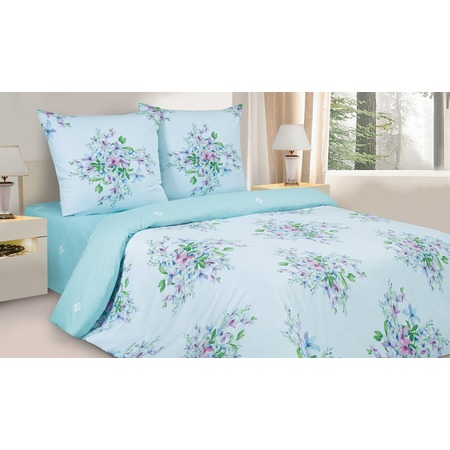 Купить Комплект постельного белья Ecotex «Фиалки Монмартра»