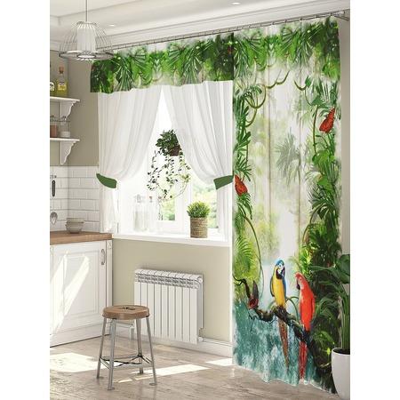 Купить Комплект штор для окна с балконом ТамиТекс «Трель»