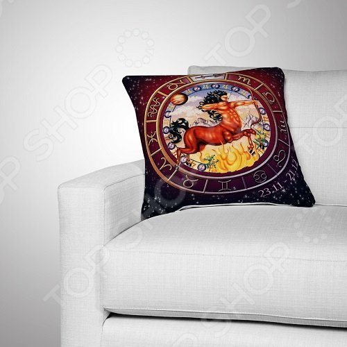 Подушка декоративная МарТекс «Стрелец»
