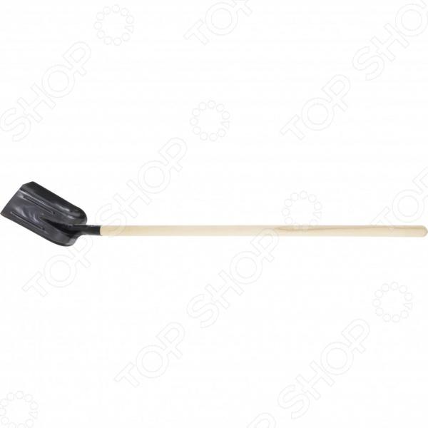 Лопата совковая 61414 лопата центроинструмент finland 1456 ч совковая глубокая с ребрами жесткости