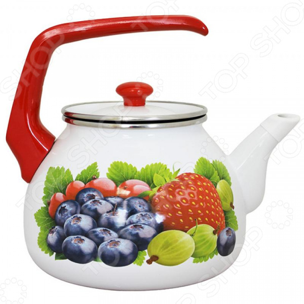 все цены на Чайник эмалированный Interos «Фреш» онлайн