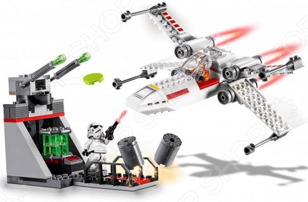 Конструктор для мальчика LEGO 75235 Star Wars «Звёздный истребитель типа Х»