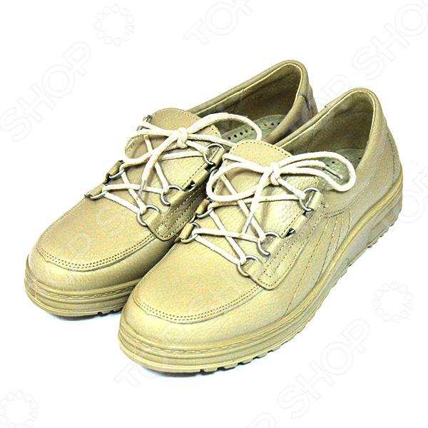 Полуботинки женские Римини это удобные ботинки, которые представляют собой модную, современную и практичную обувь. Эта обувь станет незаменимым дополнением к вашей одежде, ведь они прекрасно сохранят тепло ваших ножек даже при выходе на балкон. Эти замечательные ботинки подойдут для любой полноты ног. Модель имеет удобную шнуровку, которая позволяет регулировать обувь по полноте ноги. Модель на толстой рифленой подошве, если вам потребуется незамедлительно выйти на улицу, то вы не почувствуете дискомфорта, ведь обувь поддержит теплоту даже в прохладную погоду. Язычок удлиненный смотрится очень оригинально. Комфорт, универсальность и практичность являются главными достоинствами этих ботинок.