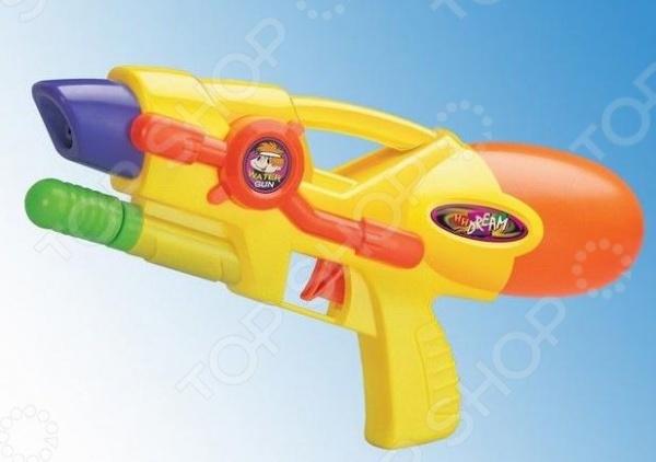Пистолет водный 1719290 водный пистолет тилибом с помпой 45см красный для мальчика