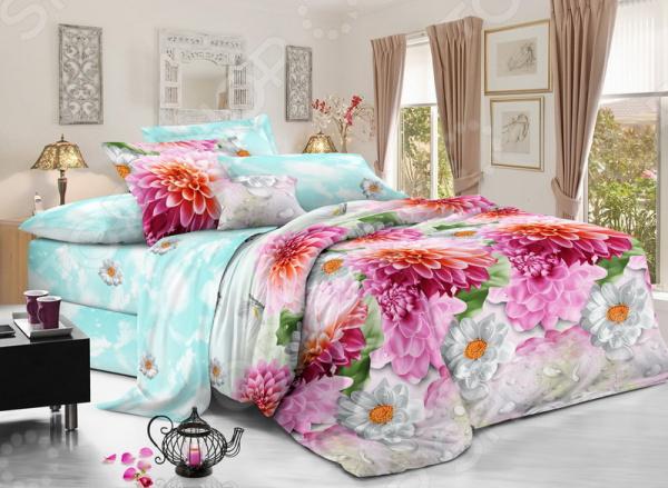Комплект постельного белья «Цветочная колыбель». Евро - артикул: 1725026