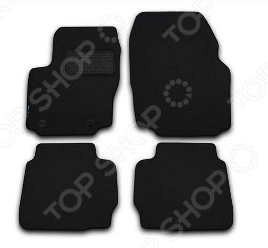 Комплект ковриков в салон автомобиля Autofamily Opel Antara 2006-2011 внедорожник. Цвет: черный цена