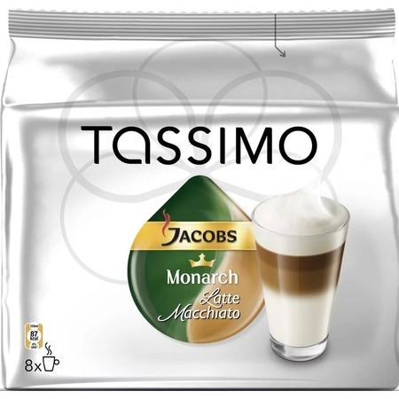 Капсулы для кофемашин Bosch Tassimo Jacobs «Латте Макиато»
