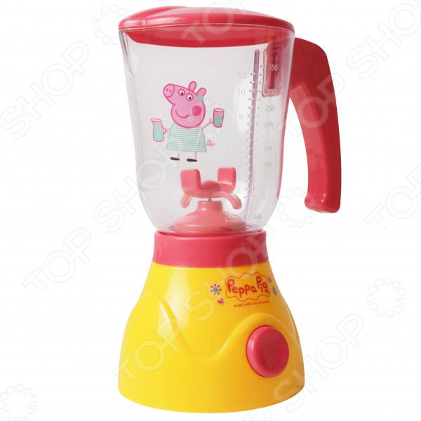 Блендер игрушечный Peppa Pig с вращающимися лопастями, светом и звуком