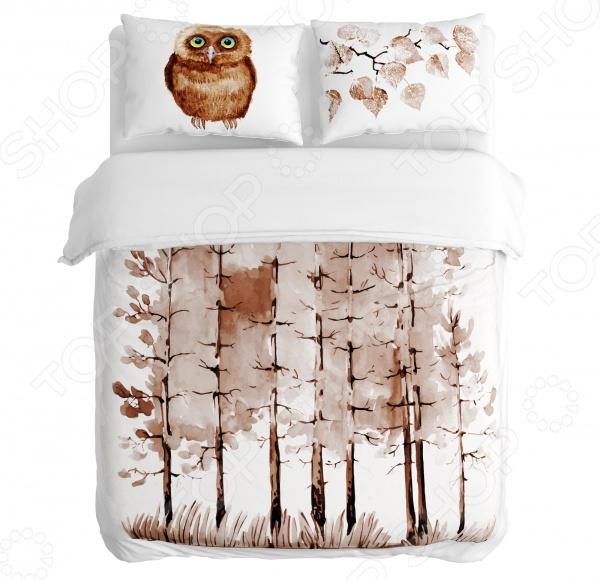 Комплект постельного белья Сирень «Сны»